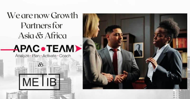 We are pleased to announce the partnership between APAC TEAM - Your A-Team in Asia and Tiberia & Partners