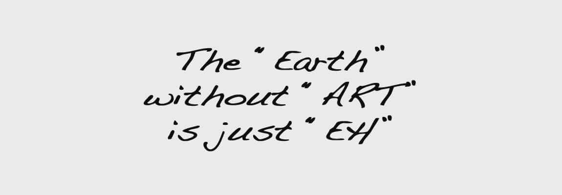 "Tiberia & Partners - The ""Earth"" without ""Art"" is just ""Eh"""